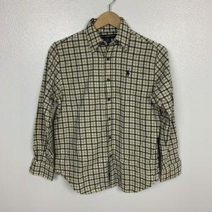 Ralph Lauren Sport Boy Shirt Classic Fit Sz: 8